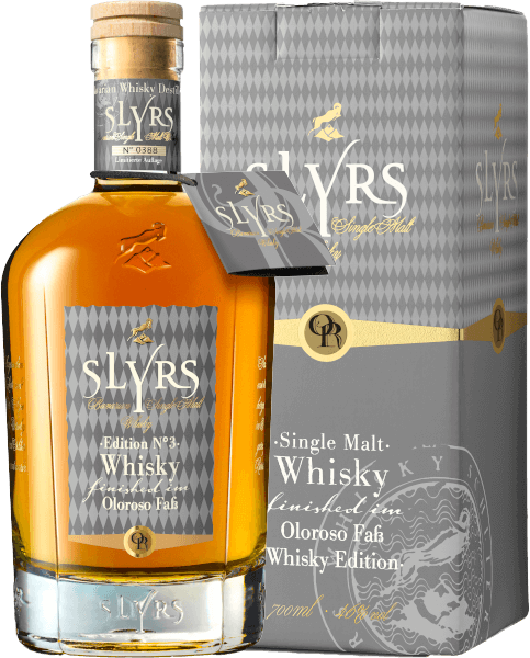 Slyrs Bavarian Single Malt Oloroso Finish Whisky 46 Prozent