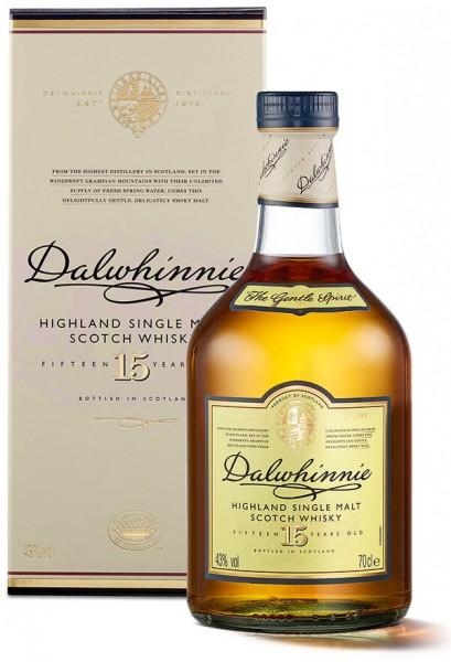 Dalwhinnie 15 Jahre Highland Single Malt Whisky 43 Prozent