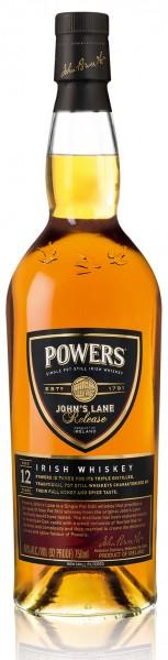Powers Johns Lane 12 Jahre Irish Whiskey 46 Prouzent