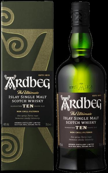 Ardbeg 10 Jahre TEN Islay Single Malt Whisky 46 Prozent
