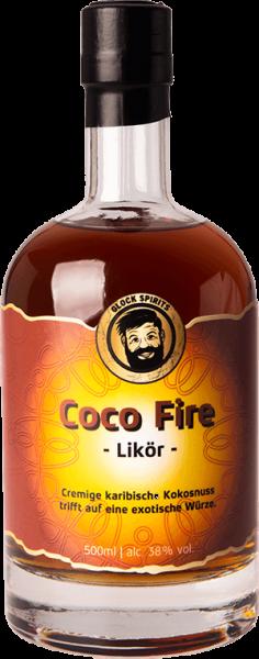 Coco Fire Likör 38%