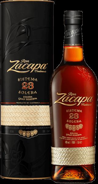 Ron Zacapa 23 Centenario Sistema Solera Guatemala Rum 40 Prozent