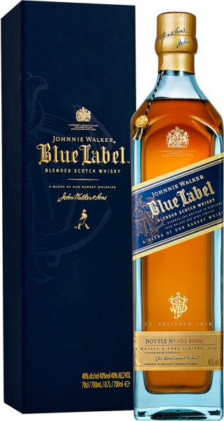 Johnnie Walker Blue Label Blended Scotch Whisky 40 Prozent