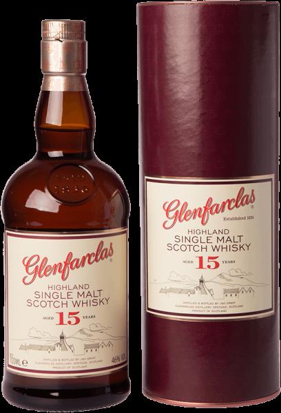 Glenfarclas 15 Jahre Speyside Single Malt Whisky 46 Prozent