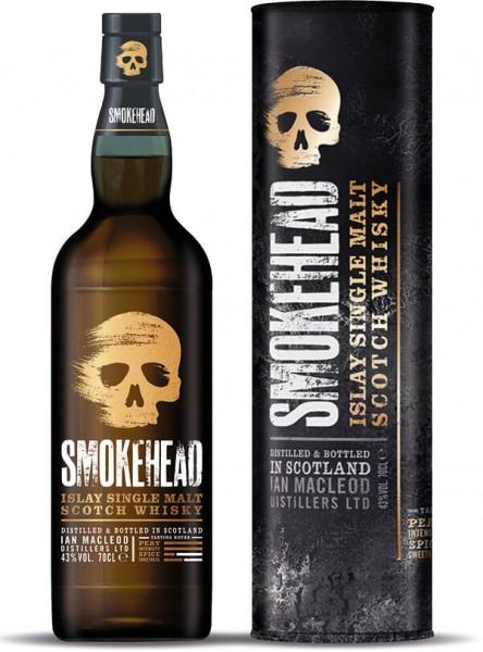 Smokehead Islay Single Malt Whisky 43 Prozent
