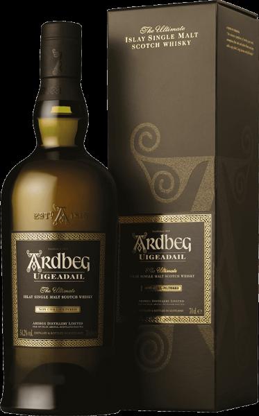 Ardbeg Uigeadail Islay Single Malt Whisky 54,2 Prozent
