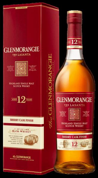 Glenmorangie 12 Jahre The Lasanta Highland Single Malt Whisky 43 Prozent