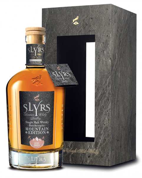 Slyrs Mountain Edition Brecherspitz Bavarian Single Malt Whisky 51,6%