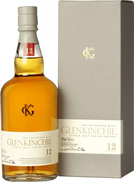 Glenkinchie 12 Jahre Lowland Single Malt Whisky 43 Prozent