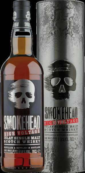 Smokehead High Voltage Islay Single Malt Whisky 58 Prozent