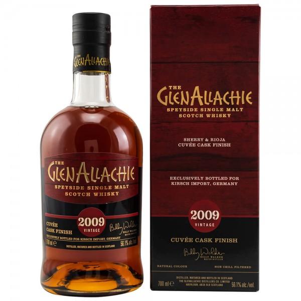 Glenallachie 2009 Destilliert 2021 Abgefüllt Sherry Rioja Cuvee Finish Whisky