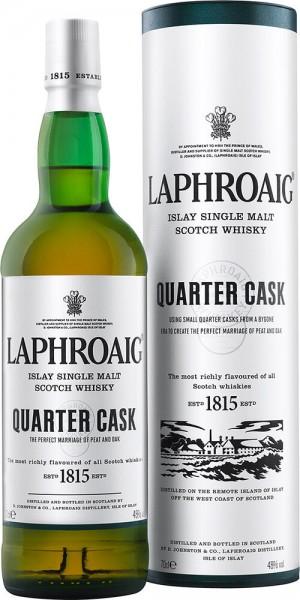 Laphroaig Quarter Cask Islay Single Malt Whisky 40 Prozent