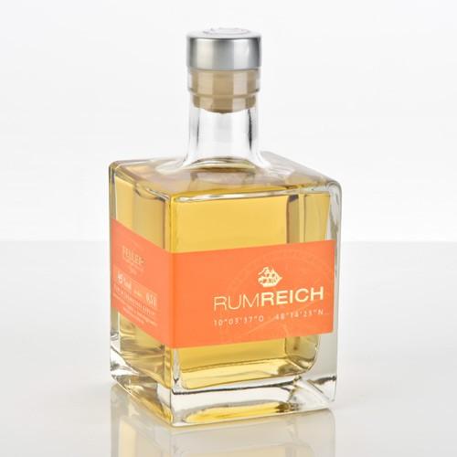 Feller Rumreich 4 Jahre Rum 45 Prozent
