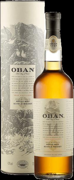 Oban 14 Jahre Highland Single Malt Whisky 43 Prozent