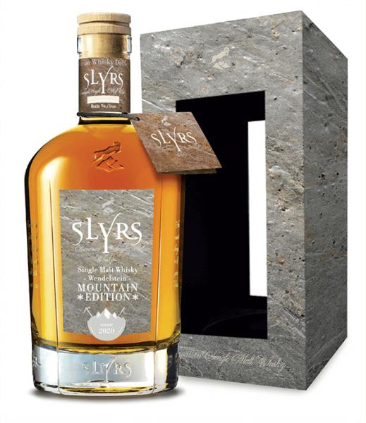 Slyrs Mountain Edition Wendelstein Bavarian Single Malt Whisky mit Geschenkverpackung