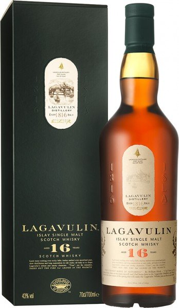 Lagavulin 16 Jahre Islay Single Malt Whisky 43 Prozent